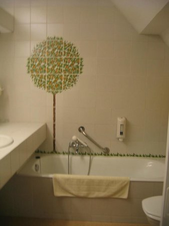 Hostellerie Pannenhuis : Bathroom -very clean!