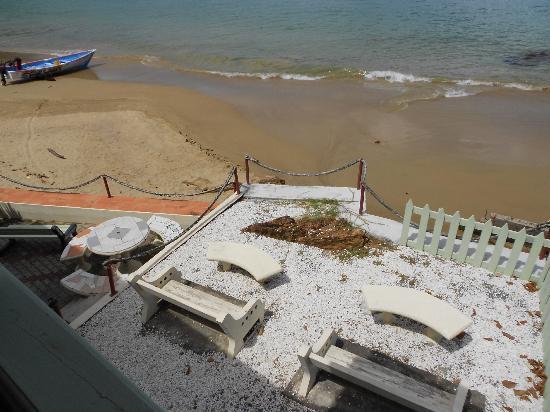 Naturalist Beach Resort : Open Grouer back door on to this