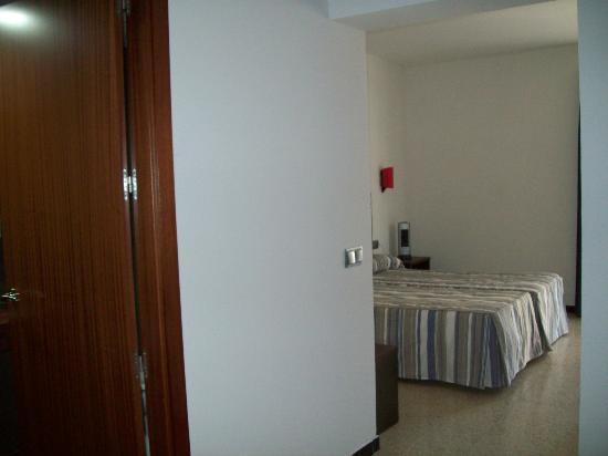 Mar Blau Tossa Hotel: vista desde la puerta