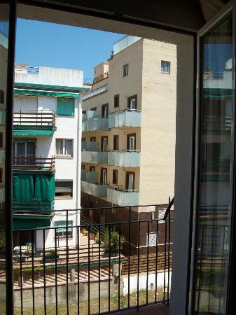 Mar Blau Tossa Hotel: salida al balcón