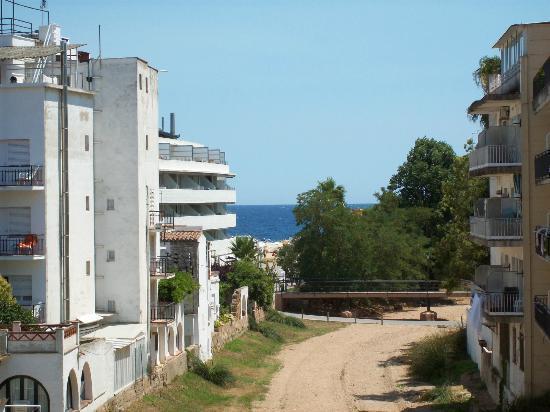 Mar Blau Tossa Hotel: Vistas parciales del mar :)