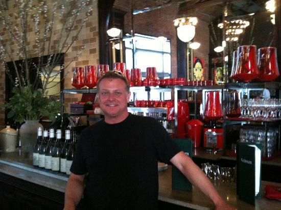 Grunauer: Meinl Coffee Bar inside Grünauer