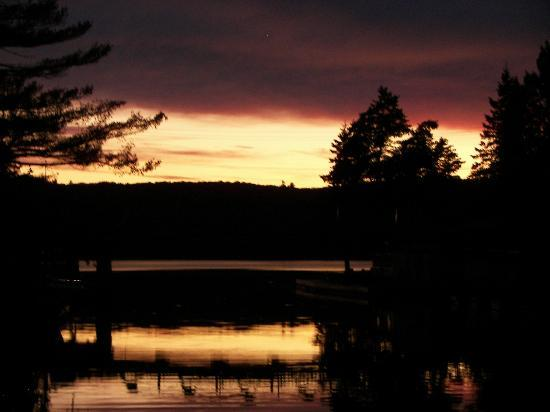 The Moose B&B: View from The Moose Dock