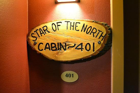 Arrowwood Lodge At Brainerd Lakes: The name plaque of our room