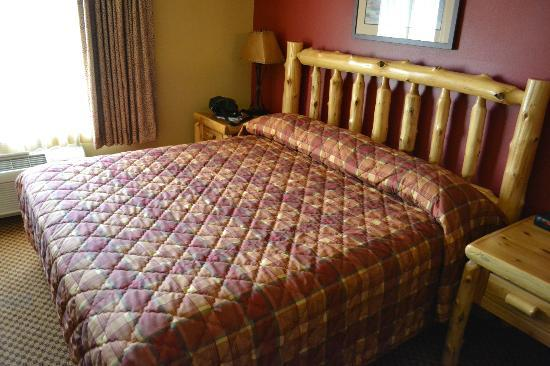 Arrowwood Lodge At Brainerd Lakes: The log-cabin-styled beds