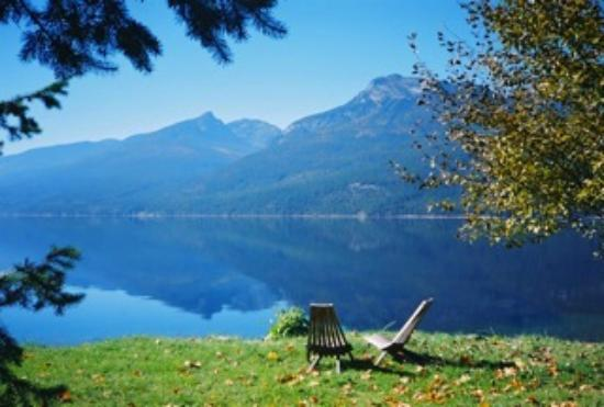 Silverton Resort: View of Slocan Lake