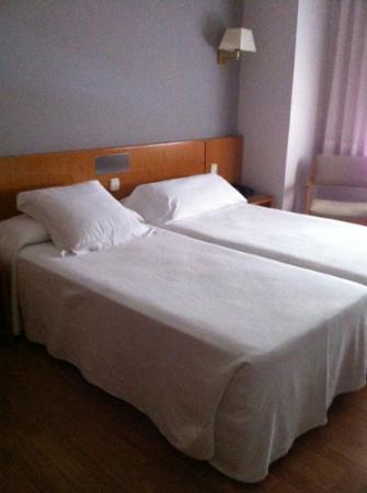 Hotel Borrell: Habitacion