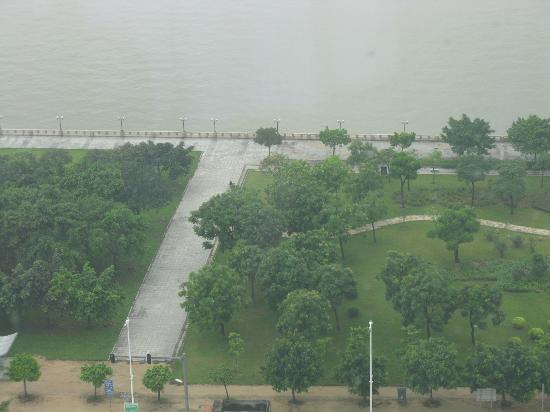 Shangri-La Hotel Guangzhou: vista espectacular