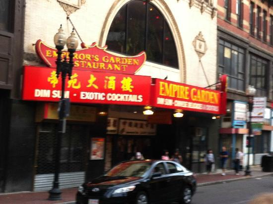 Empire Garden Restaurant Boston Chinatown Restaurant