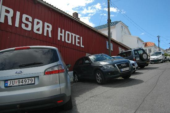 Risor Hotel: Just to prove we were really there...