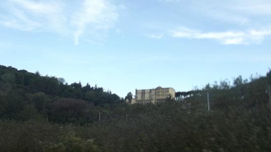 Hotel O Sole Mio: l'hôtel vu de très loin