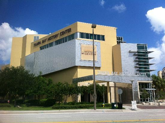 Tampa Bay History Center: Front view