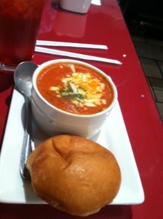 Ripe Tomato: tomato basil soup