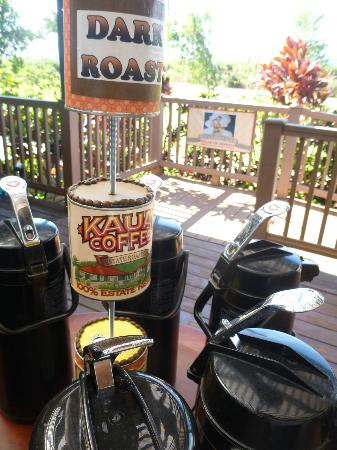 Kalaheo, HI: Coffee samples