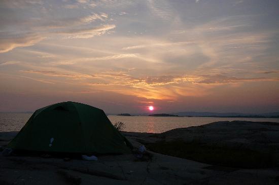 Killarney Provincial Park: Sunset
