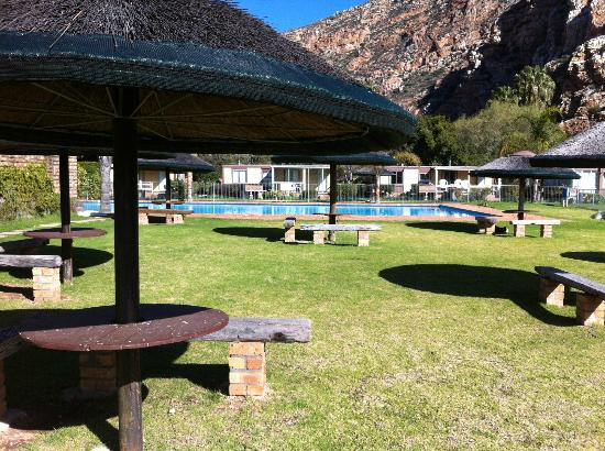 Montagu Springs Resort: Near playpark & pool