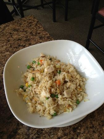 Bamboo garden: Green Curry Fried Rice with chicken