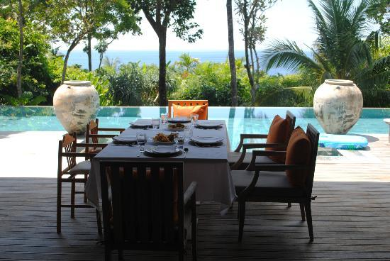 Trisara Phuket: Lunch on our private terrace