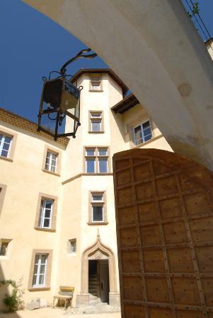 Maison de La Pra : entrée