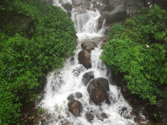 Amboli: A close up of one of the falls