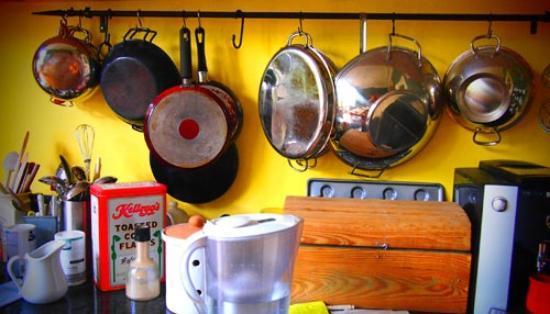 YENN b&b: Kitchen