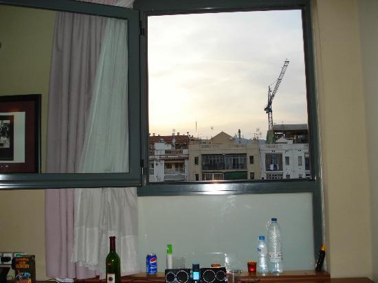 Evenia Rosello: Utsikten från vårat fönster