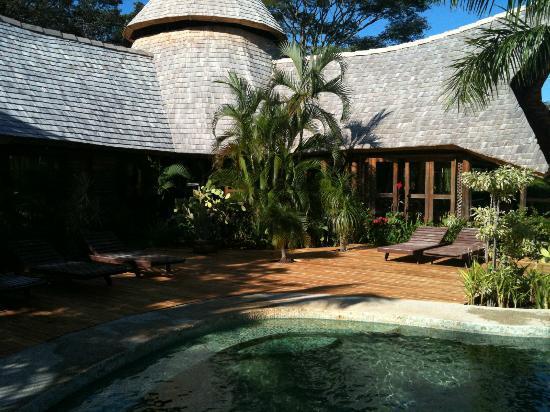 El Sabanero Eco Lodge: Perfect after a hot beach day