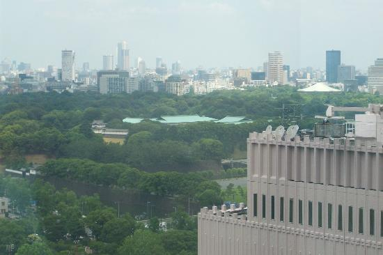 Imperial Hotel Tokyo: View on the Imperial Palace