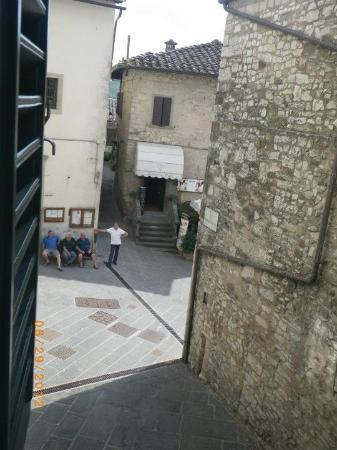 Palazzo San Niccolo': The view from our room