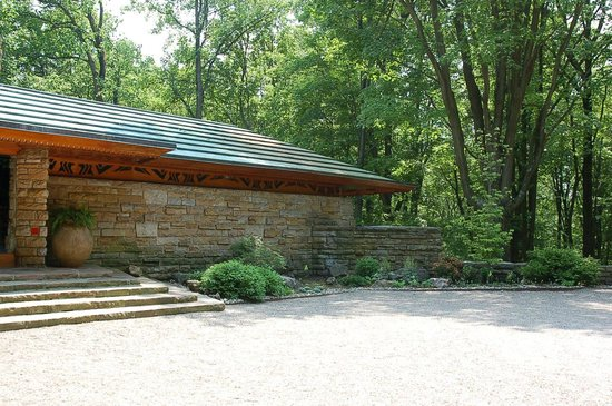 Kentuck Knob: Front of home
