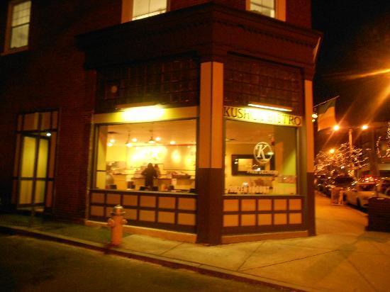 Cafe Kushco: Corner of Washington St and Barton Sq