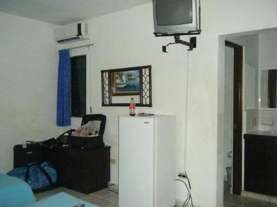 El Acuario Hotel: Room