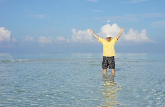 Kuramathi Island Resort: Радость