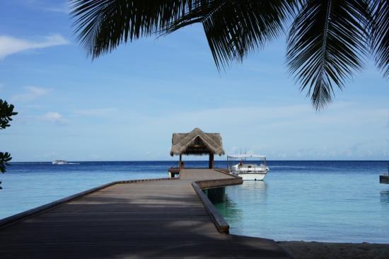 Kuramathi Island Resort: ресепшен