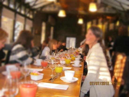 Casa del Visitante - Familia Zuccardi: Festejé mi cumpleaños con una tarde de té, acompañada de amigas :)