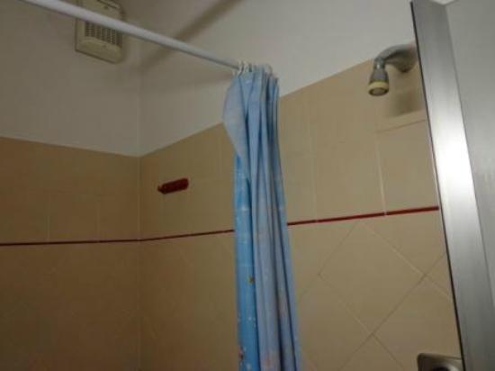 Hotel Locanda de' Pazzi: Shower in the middle of the bathroom!
