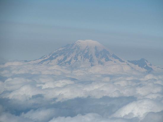 Washington: Mt. Rainier from the summit of Adams.