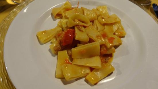 Domus Laeta : Pasta course