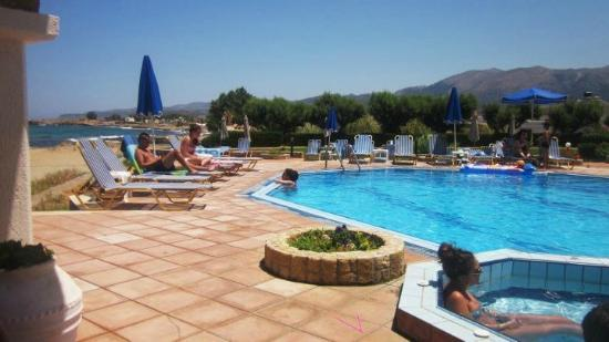Pyrgos Beach Hotel: Pool