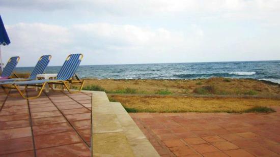 Pyrgos Beach Hotel: Beach!