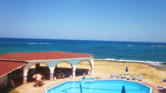 Pyrgos Beach Hotel: View from room