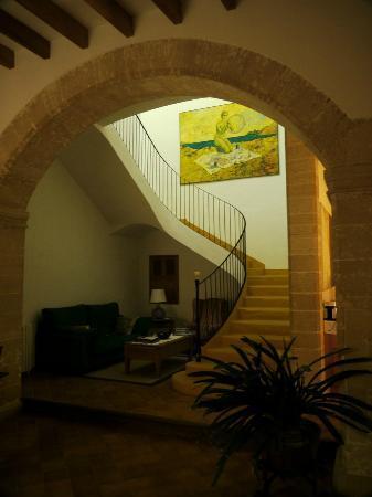 Can Tem : Escalier principal