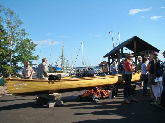 North House Folk School: Wooden Boat SHow, on the Commons