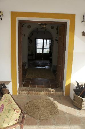 Hacienda el Lirio: Entrada Casa
