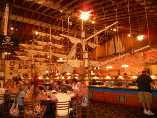 Surfside Beach, Carolina Selatan: The buffet