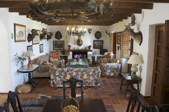 Hacienda el Lirio: Salon y Comedor