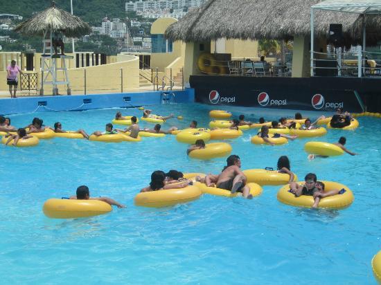 CiCi Acapulco Magico: vista panoramica de alberca de olas