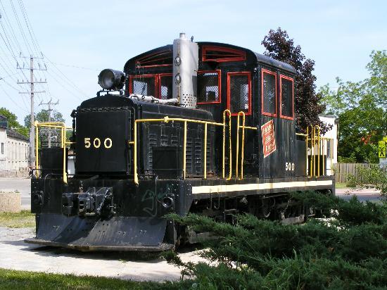 Sculpture Park: Gananoque Train