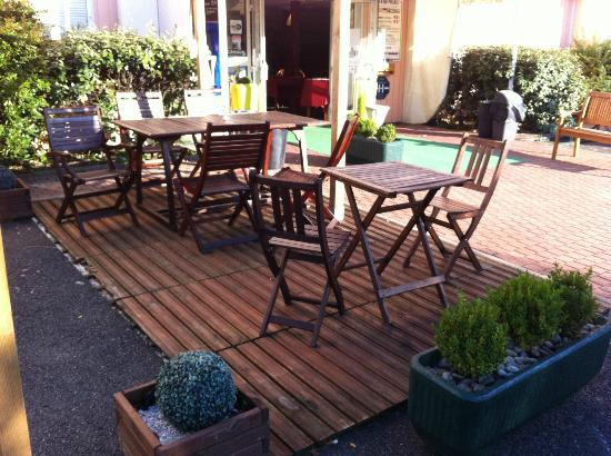 Quick Palace Tours Nord: terrasse