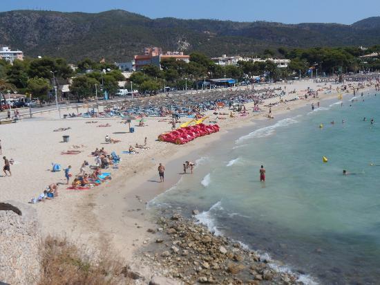 Hotel Agua Beach: beach